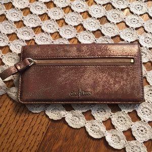 Cole Hann wallet leather